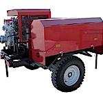 Мотопомпа Гейзер 1600 П пожарная прицепная